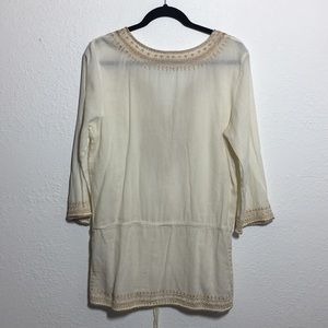 Lucky Brand Tops - Lucky Brand Boho Embroidered Top